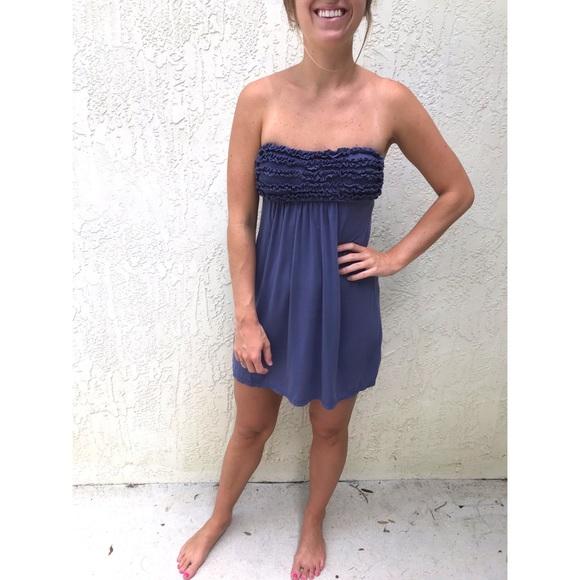 Victoria's Secret Dresses & Skirts - Victoria's Secret Strapless Beach Cover Up Dress